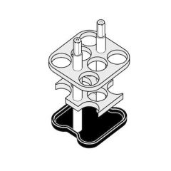 Adaptoare tuburi Eppendorf, 15 ml, 2 bucati