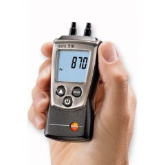 Barometru diferential digital portabil Testo 510, 0.00 - 100.00 hPa