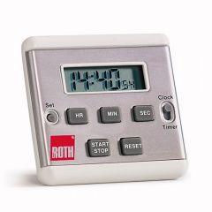 Cronometru digital ROTH cu ceas, 24 h