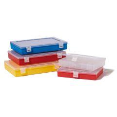 Cutie ROTH pentru depozitare, culoare rosie, 8 compartimente, 250*170 mm
