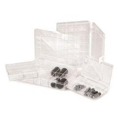 Cutie ROTH Rotilabo pentru depozitare, translucida, 9 compartimente, 36*67 mm