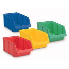 Cutii ROTH pentru depozitare, culoare albastra, 4 buc