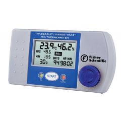 Datalogger temperatura/umiditate Fisher Scientific, trasabil NIST, 30 720 citiri