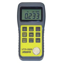 Dispozitiv masurare grosime cu ultrasunete Phase II UTG-2800, 0.5 - 305 mm