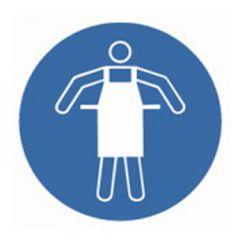 Eticheta ROTH securitate si protectie, simbol sort protectie, Ø 100 mm