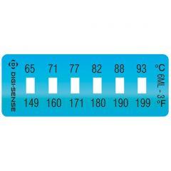 Etichete de masurare a temperaturii - ireversibile, Digi-Sense, 65 - 93 °C
