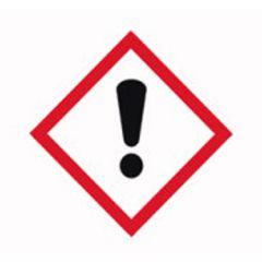 Etichete substante periculoase ISOLAB, simbol avertizare toxicitate, 26*37 mm, 250 buc
