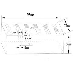 Insertii FALC pentru incalzitoare cu blocuri, 30 locasuri
