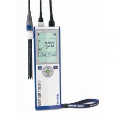 Kit pH-metru portabil Mettler Toledo Seven2Go pH/mV S2, -2 - 20 pH