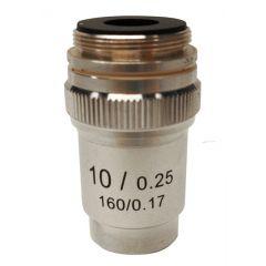 Lentila obiectiv acromatica M-132 Optika pentru microscoape, 10x