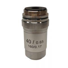 Lentila obiectiv acromatica M-134 Optika pentru microscoape, 40x