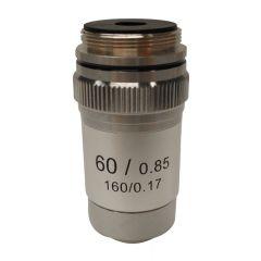 Lentila obiectiv acromatica M-135 Optika pentru microscoape, 60x