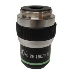 Lentila obiectiv cu contrast ridicat M-138 Optika pentru microscoape, 10x