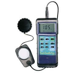 Luxmetru cu sonda mobila Extech 407026 High-Intensity cu certificat de calibrare NIST, 50 000 lux