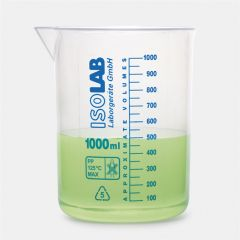 Pahar Berzelius ISOLAB din polipropilena, 1000 ml