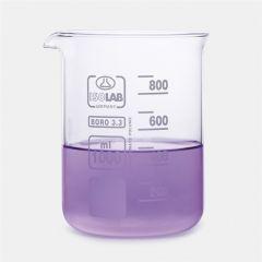 Pahar Berzelius ISOLAB, 800 ml