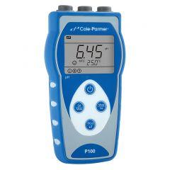 pH-metru portabil Cole-Parmer P100 cu electrod pH, 0 - 14 pH