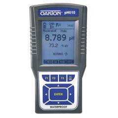 pH-metru portabil Oakton pH 610 cu certificat de calibrare NIST, -2 - 20 pH