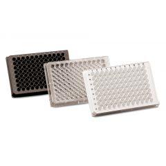 Placi de microtitrare Brand immunoGrade din polistiren, negre, 96 godeuri F, 100 buc