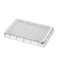 Placi sterile de microtitrare Eppendorf 96F din polipropilena, 96 godeuri F