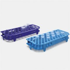 Suport albastru ISOLAB pentru tuburi PCR de 1.5  2.0 ml, 100 orificii
