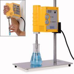 Suport cu tija pentru procesoare ultrasonice Hielscher UP50H si UP100H, 300*150 mm