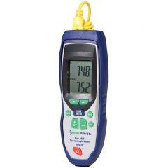 Termometru cu termocuplu J, K, T Digi-Sense, trasabil NIST, -200 - 1372 °C