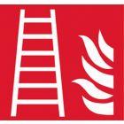 Eticheta ROTH Sekuroka, simbol scara de incendiu, 200*200 mm